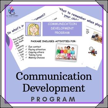 Speech Pathology Communication Program