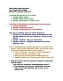 Speech Pathology Reflection Template