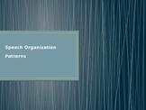 Speech Pattern/Speech Organization PowerPoint