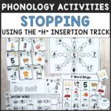 """Speech Phonology Activities for Stopping Using """"H"""" Inserti"""