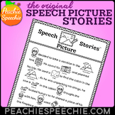 Articulation Rebus Stories for Speech Therapy
