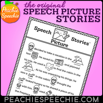 Speech Picture Stories - Rebus Stories for Articulation