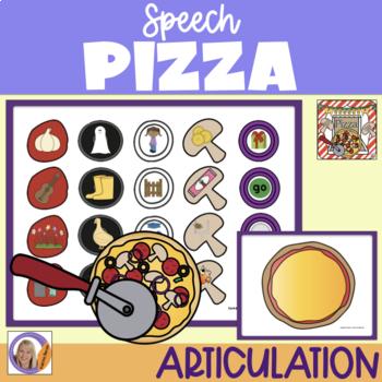 Articulation Game: Speech Pizza