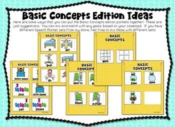 Speech Pockets - Basic Concepts