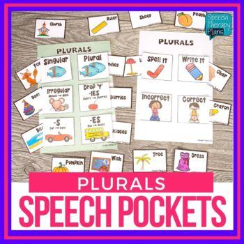 Speech Pockets - Plurals