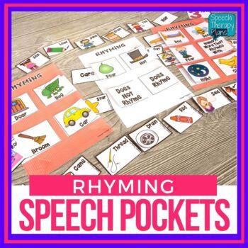 Speech Pockets - Rhyming