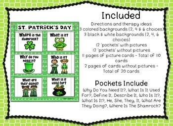 Speech Pockets - St. Patrick's Day Edition