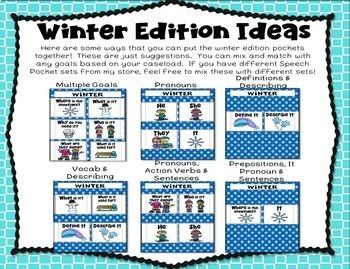 Winter Speech & Language Pockets