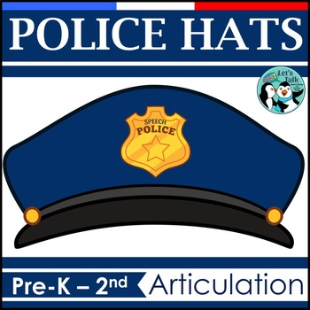 Speech Police Hats for Articulation