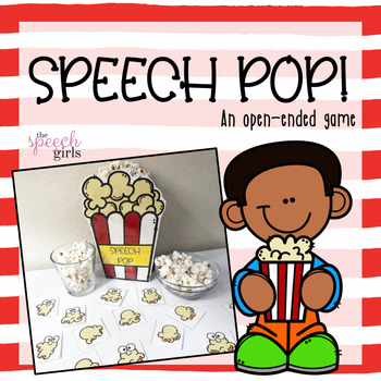 Speech Pop! A popcorn articulation game