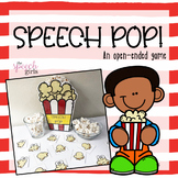 Speech Pop! An open-ended popcorn game