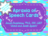 Apraxia of Speech Cards