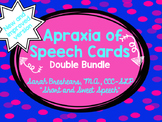Apraxia of Speech Cards DOUBLE Bundle