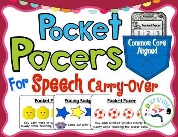 Speech Rate Carry Over- Pocket Pacing Boards