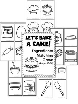 Speech Recipe Club: Let's Bake a Cake!
