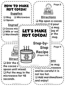 Speech Recipe Club: Let's Make Hot Cocoa!