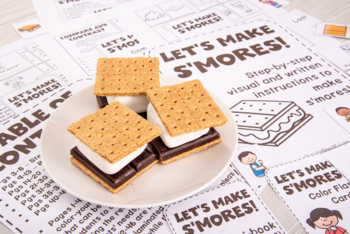 Speech Recipe Club: Let's Make Smores!