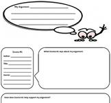 Speech Research Graphic Organizer