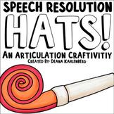 Speech Resolution Hats {2019}