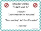 Speech Room Banned Words