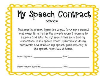 Speech Room Contracts