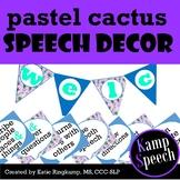 Cactus Speech Decor: Banners & Signs