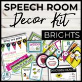 Speech Room Decor Kit {Brights}