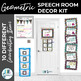 Speech Room Decor Kit {Eccentric}