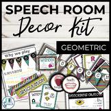 Speech Room Decor Kit {Eccentric}