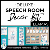 Speech Room Decor Kit {Llamas}