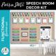 Speech Room Decor Kit {Polka Dots}