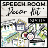 Speech Room Decor Kit {Spots}