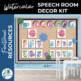 Speech Room Decor Kit {Watercolor}