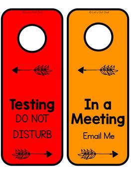 Speech Room Decor: Speech Room Signs