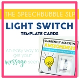 Speech Room Light Switch Template