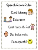 Speech Room Rules
