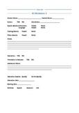 Speech RtI Worksheet