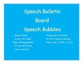 Speech Rules Bulletin Board
