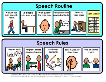 Speech Rules and Routine