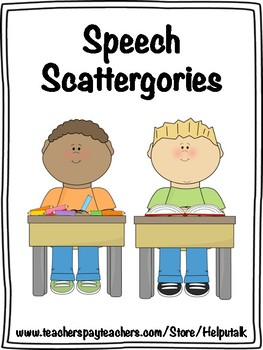 Speech Scattergories!