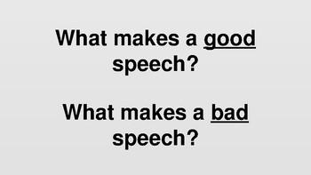 Speech Skills