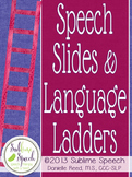 Speech Slides & Language Ladders Bulletin Board