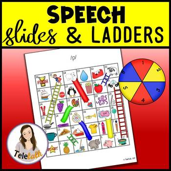 Speech Slides and Ladders: Articulation Practice Games
