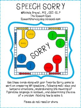 Speech Sorry