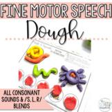 Speech Sound Activities- No Prep Fine Motor Activities for