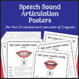 Speech Sound Articulation Posters