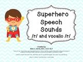 Speech Sound Articulation R and Vocalic R Sounds