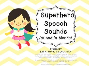 Speech Sound Articulation S and S-blends