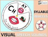 21 Interactive ARTICULATION SYLLABLE WHEELS with Picture Cues