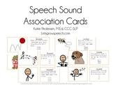 Speech Sound Association Cards